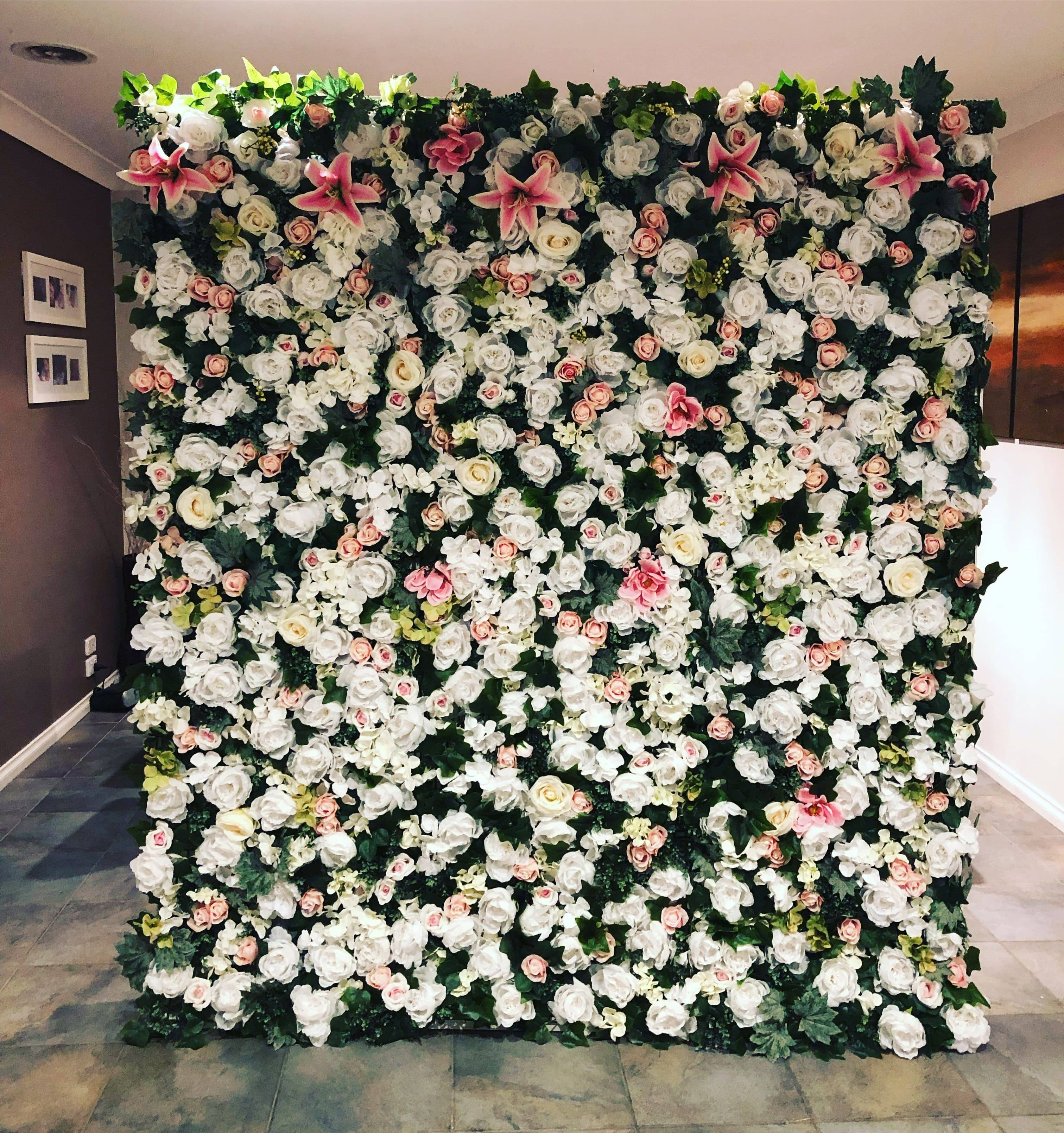 Ballarat   Flower Wall Hire   Party Hire Co   Wedding & Events